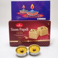Soan Papdi & Diwali Candles