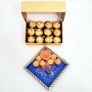 Ferrero & Ganesha Candle