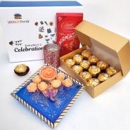 Diwali Candles & Choco Mix