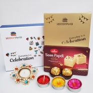 Diwali Sweets & Candles