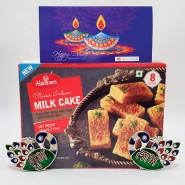 Milk Cake with Shubh Labh & Card