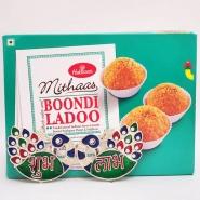 Boondi Laddoo with Shubh Labh