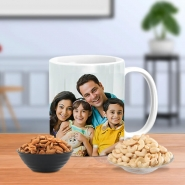 Family Personalized Mug with Nuts