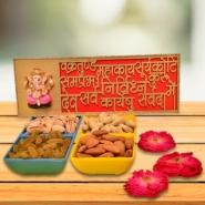 Vakrakund Ganesha with Nuts