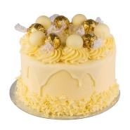 White Chocolate Lindt Cake