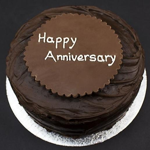 Anniversary Chocolate Fudge Cake