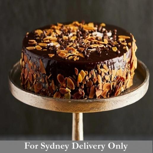 Chocolate Cake (Vegan) (GF)