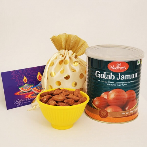 Gulabjamun and Nuts Gift