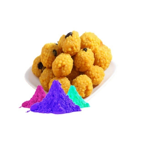 Boondi Ladoo with Colors