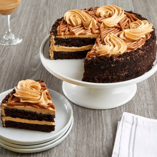 Caramel Chocolate Cake
