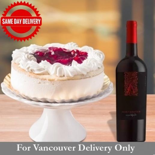 White Cake & Red Wine