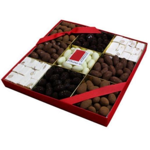 Chocolate Almond & Nougat Tray