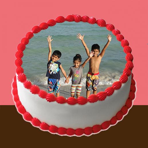 Circular Photo cake