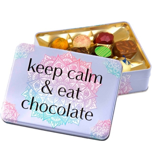 "Gift Box ""Keep Calm And Eat Chocolate"""