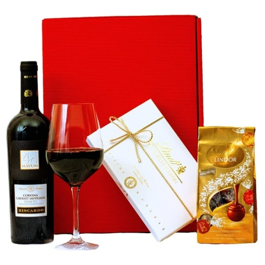 Red Wine & Lindt Chocolate