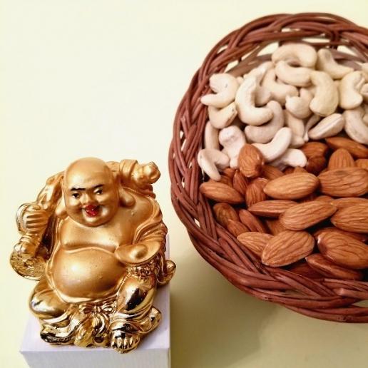 Dry Fruits & Buddha