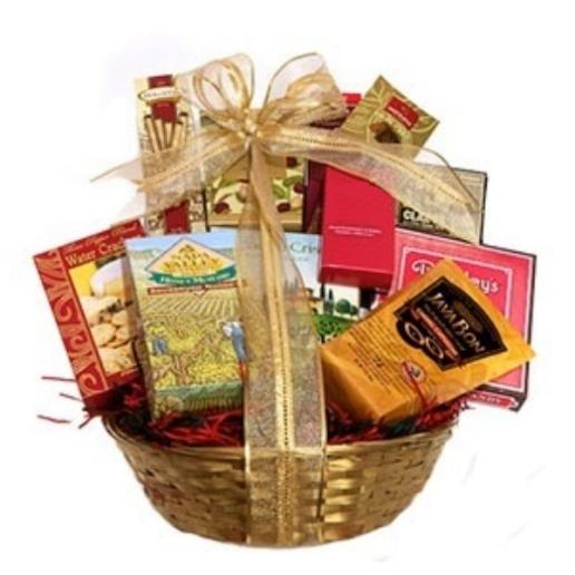 Snack Lover Gift Basket