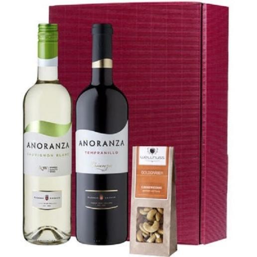Spanish Wine Basket