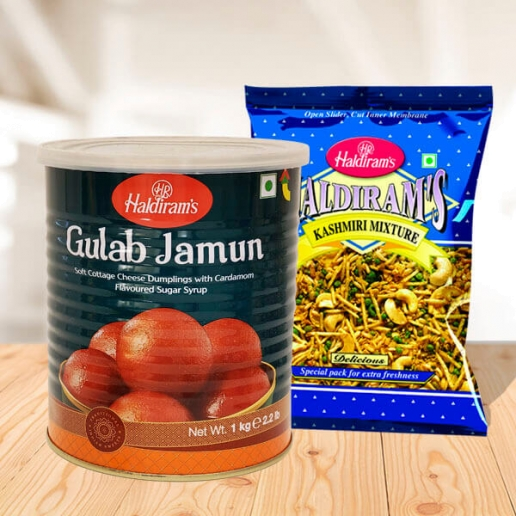 Gulabjamun & Kashmiri Mixture