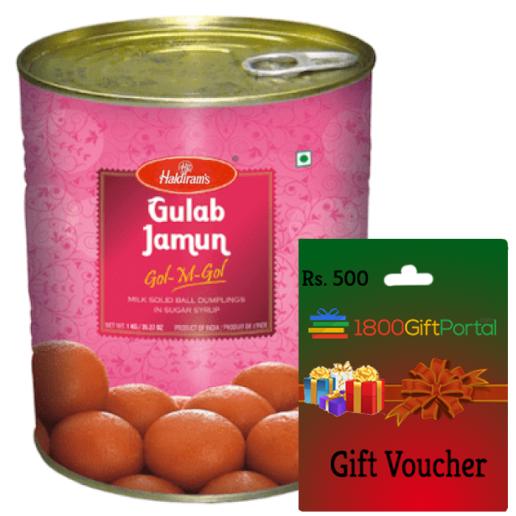 Gulab Jamun & 1800GP Card
