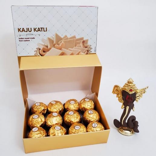 Ganesha with Ferrero and Sweet