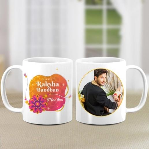 Personalised Mug for Rakshabandhan