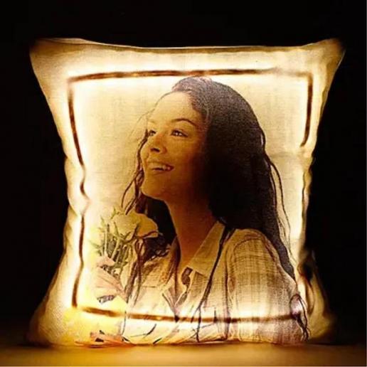 Personalised Cool LED Cushion