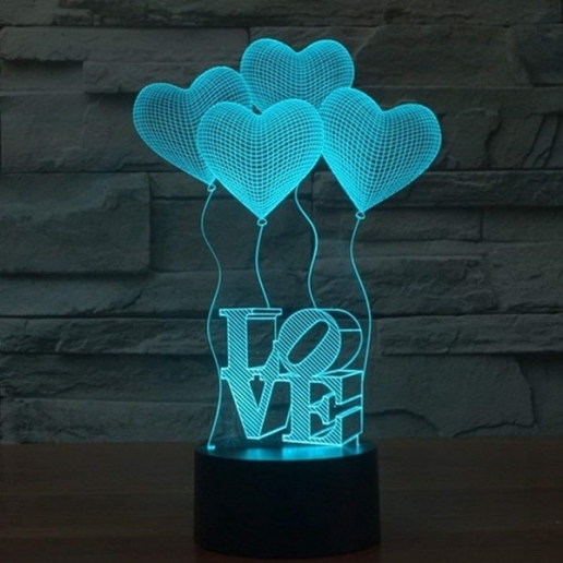 3D lamp night light