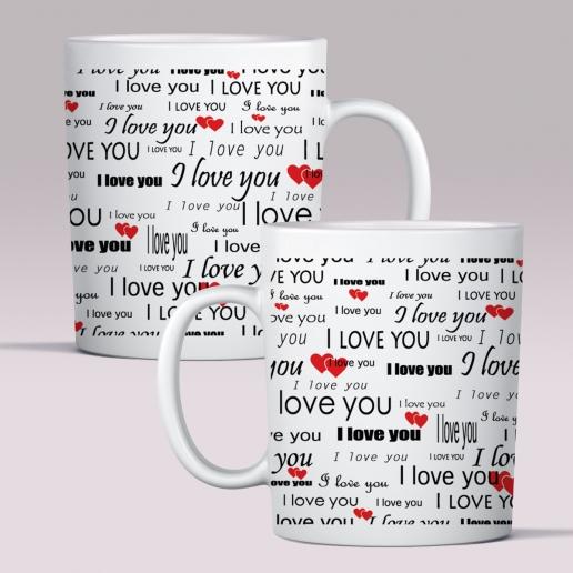 Love Message Mug
