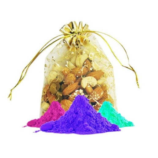 Mixed dry fruit with colors