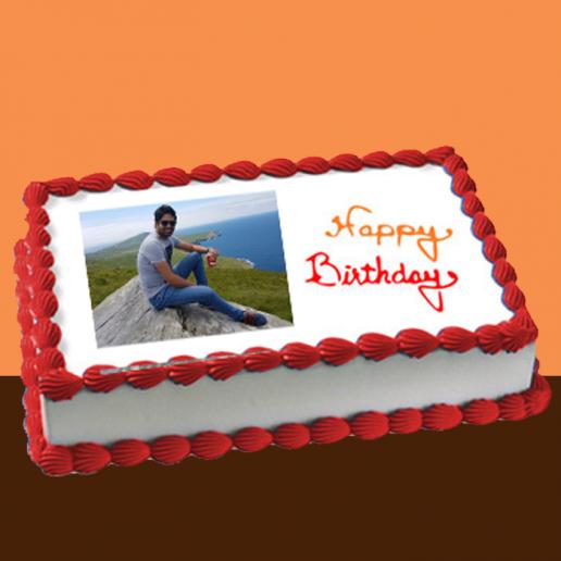 Rectangular Photo cake