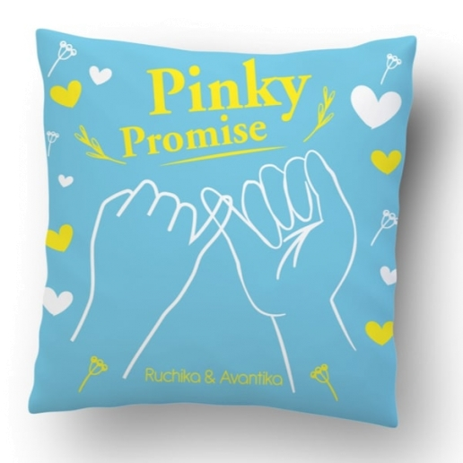 Pinky Promise Cushion