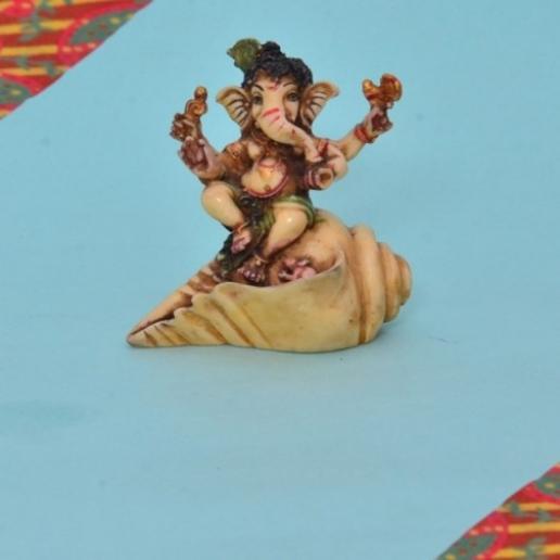 Shank Ganesha
