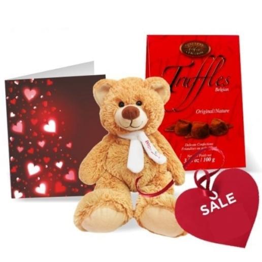 Truffles, Teddy & Card