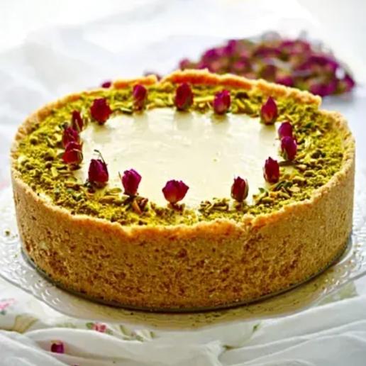 Cheesecake With Gulabjamun Stuffing