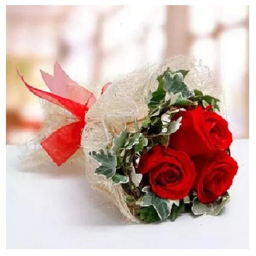 Blush Of Love 3 Stems