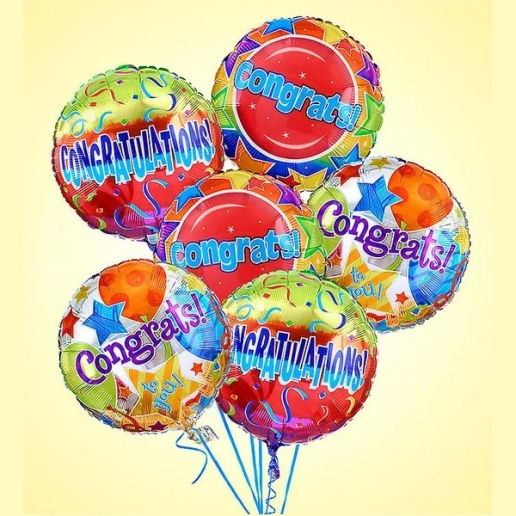 Congratulations Mylar Balloons