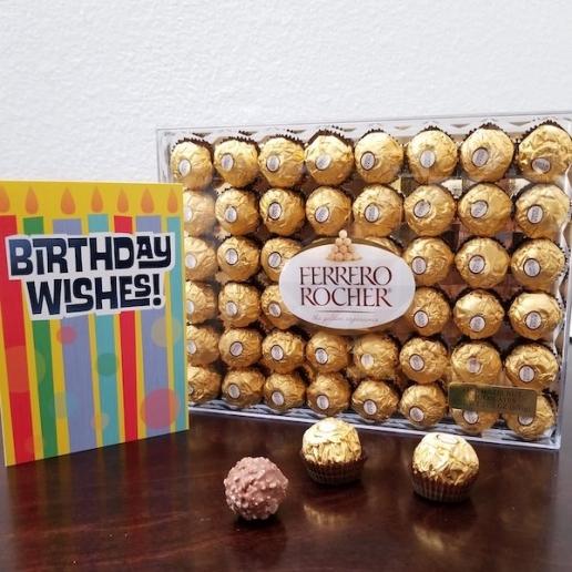 Birthday Ferrero