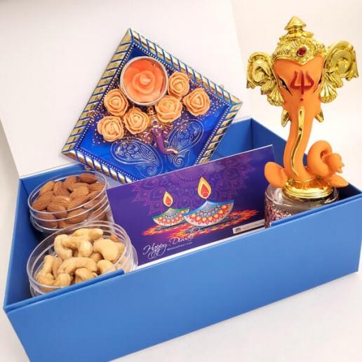 Ganesha, Candles & Nuts