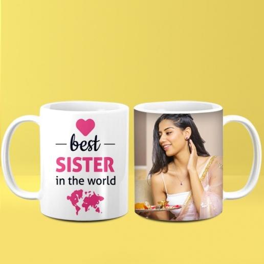 Best Sister Personalised Mug
