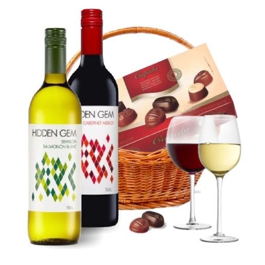 Wine Duo Basket