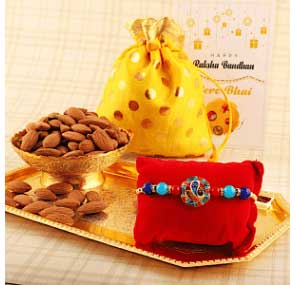 Send Rakhi with Dry Fruits to EUROPE