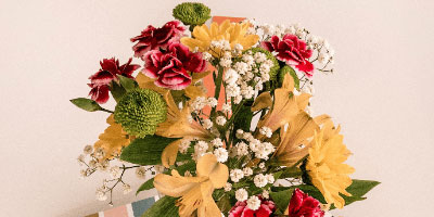 Send Flower Arrangement to EUROPE