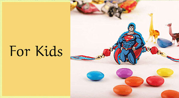 Send Rakhi for Kids to EUROPE