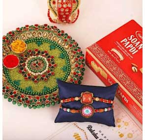Send Rakhi Thali to EUROPE
