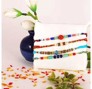 Send Triple Rakhis to EUROPE