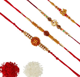 Send 4 or more Rakhi to Europe