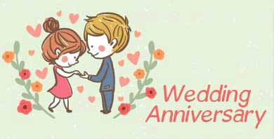 Send Wedding Anniversary Gifts Online